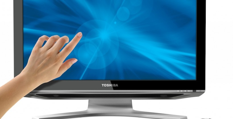 Toshiba DX1215 all-in-one PC packs Full HD touchscreen, HDMI input