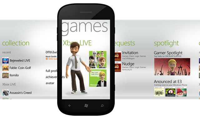 Microsoft Previews New Games Hub For Windows Phone Mango