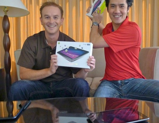 "Galaxy Tab 10.1 Giveaway ""Unboxing War"" Winner Announced! Thanks For Playing!"
