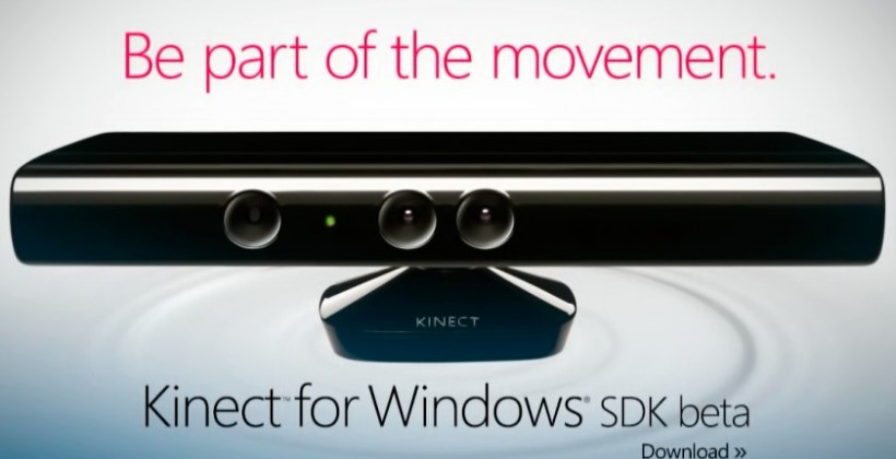 Kinect for Windows SDK beta released: developers gesture wildly