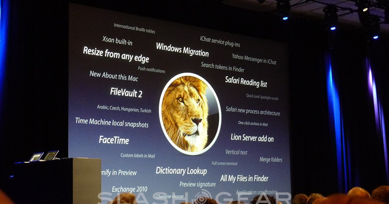 OS X Lion Available in App Store for $30 in July 2011