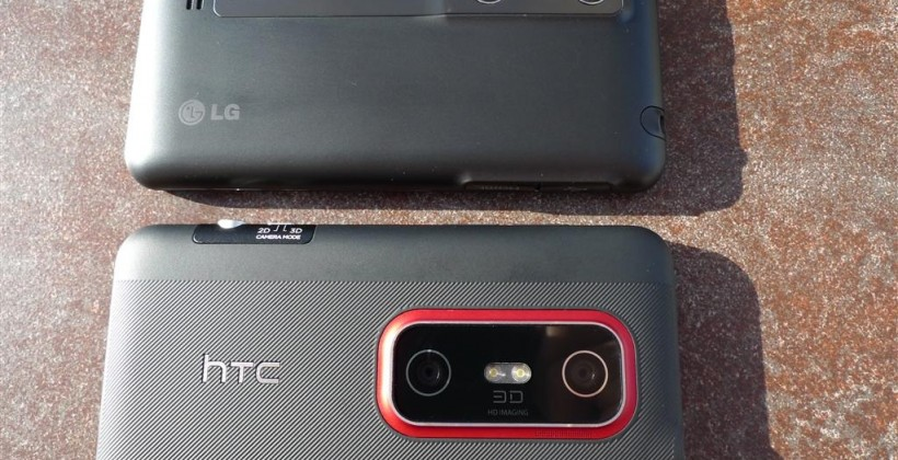 Battle for 3D: HTC EVO 3D vs LG Optimus 3D Hardware Comparison [Video]