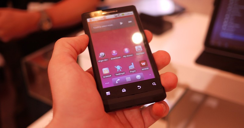 Motorola TRIUMPH Hands-On [Video]