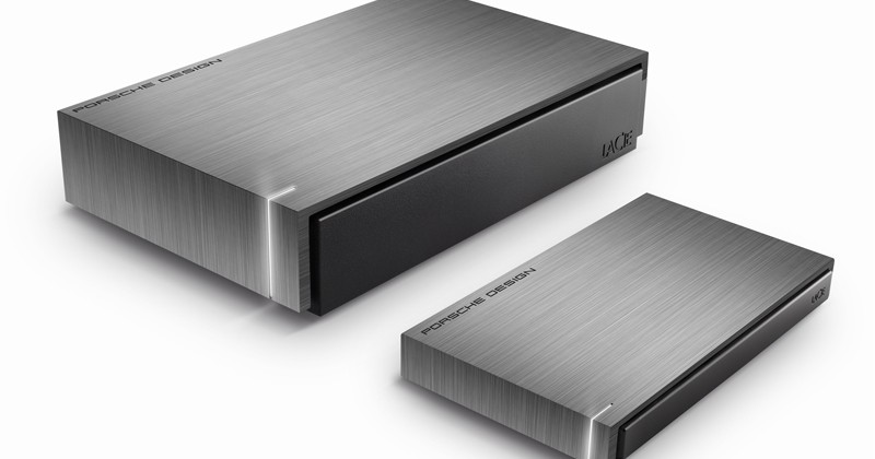 LaCie And Porsche Design Partner For Next-Gen Hard Drives