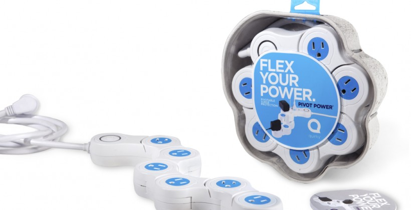 Pivot Power Strip by Quirky Makes Charging Easier
