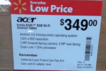 Acer Iconia Tab A100 Hits Walmart For $349