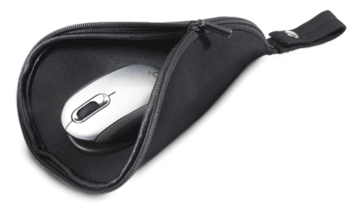 Mouse Pad Travel Pouch Raises Question of Mouse Longevity in our Modern Mobile Culture