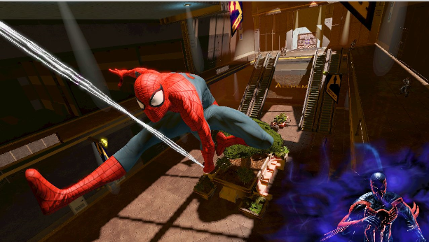Spider-Man: Edge of Time E3 trailer and screens appear