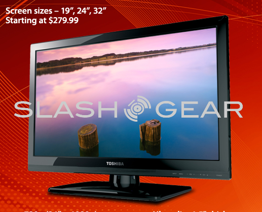 SlashGear Toshiba 24″ 1080p LED TV Father's Day Giveaway!