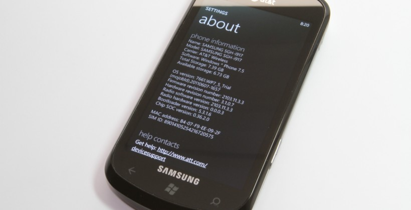 Windows Phone 7.1 Mango Technical Preview