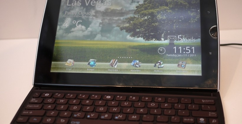 ASUS confirms Eee Pad Transformer 3G and Slider due August