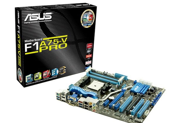 Asus unveils new F1A75 series mainboards for AMD FM-1 CPUs