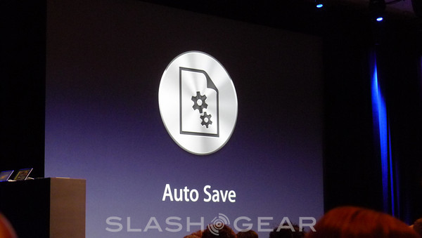 OSX Lion Features AutoSave And Resume