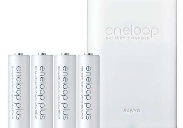 Sanyo unveils Eneloop Pro and Eneloop Plus batteries