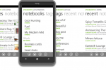 Evernote Delivers App For Windows Phone 7