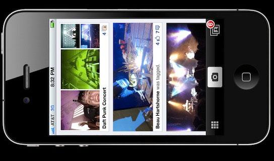 Sweet looking Facebook iPhone photo sharing app leaks