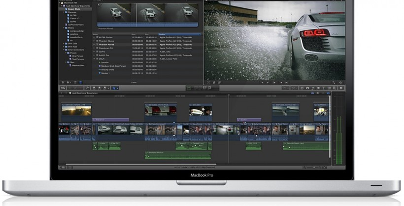Apple Final Cut Pro X released