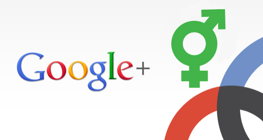 Gender's Role in Facebook and Google+