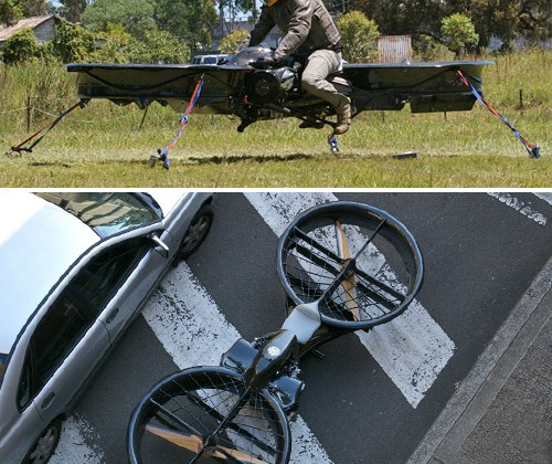 Hoverbike Brings Return of the Jedi to Life