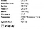 Leaked Samsung Galaxy S II I9101 is different under the hood