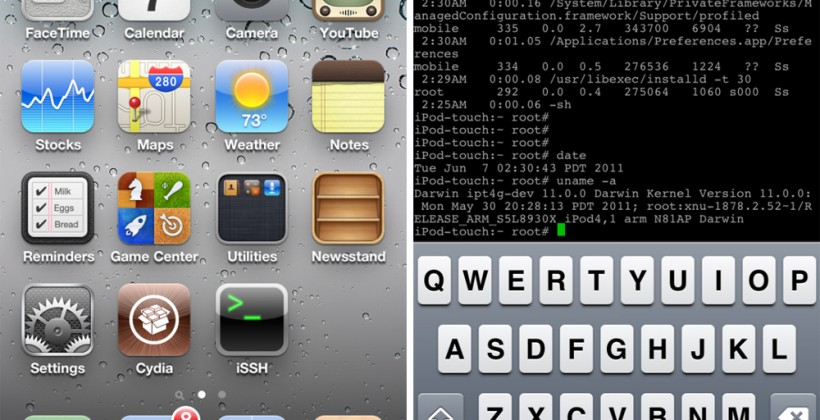 iOS 5 gets tethered Jailbreak after only hours in wild