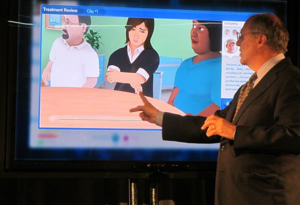 Kinect avatars to help with virtual health care in the future?