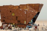 LEGO-licious Star Wars Sandcrawler used 10,000 bricks