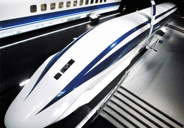 Japan starts work on new faster 313 MPH maglev train