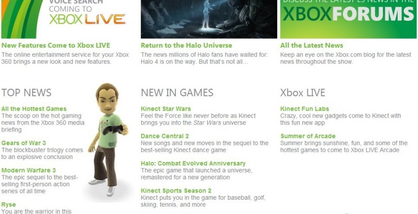 Microsoft E3 leak: Halo 4 confirmed; Kinect Fun Labs games detailed [Video]