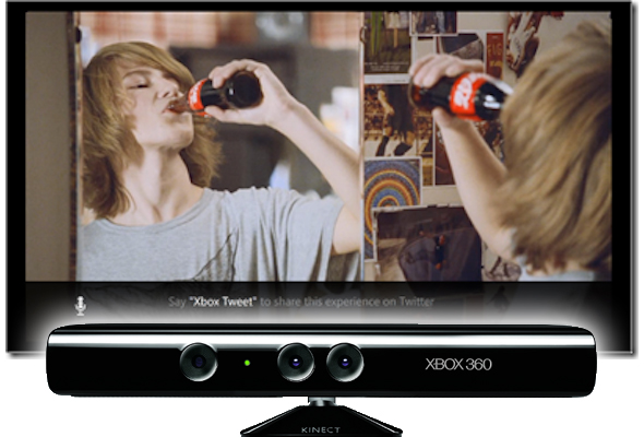Xbox LIVE TV and NUads for Kinect could save TV advertising