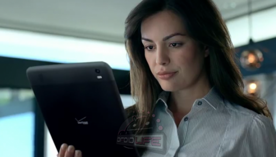 Could the mystery tablet in this Verizon ad be from HTC?
