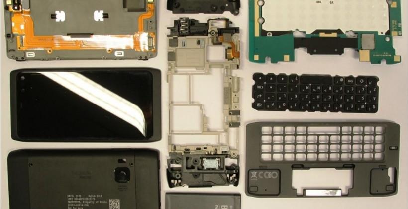 Nokia N950 teardown revealed