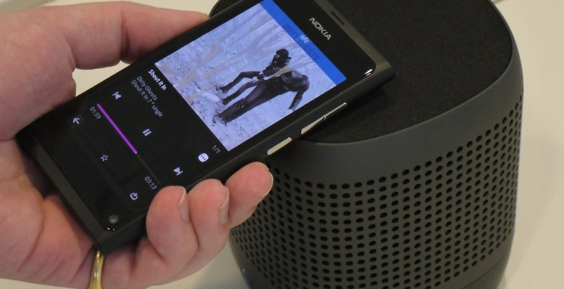 Nokia N9 and NFC Nokia Play 360 speaker hands-on [Video]