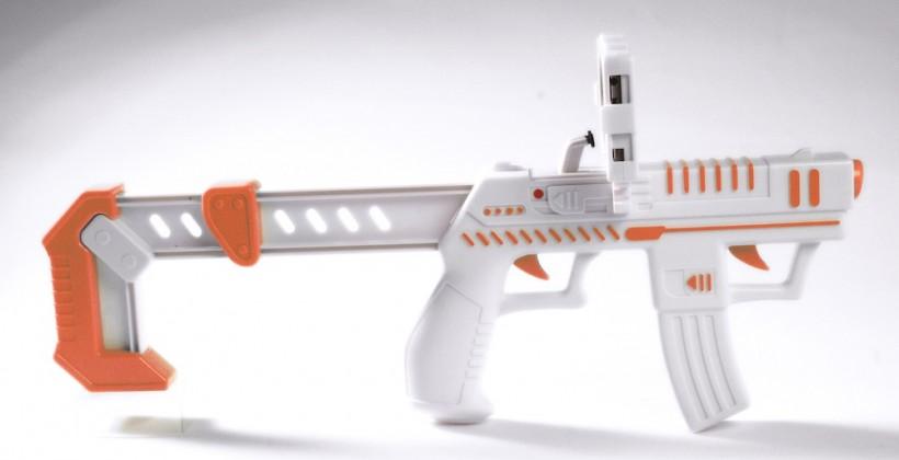 appBlaster turns iPhone into motion-sensitive AR gaming gun