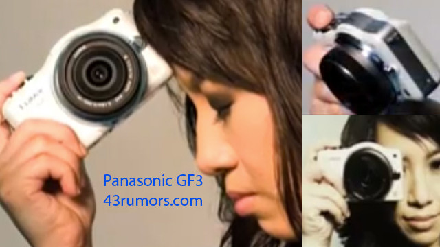 Panasonic Lumix GF3 leaks: smallest GF-series so far