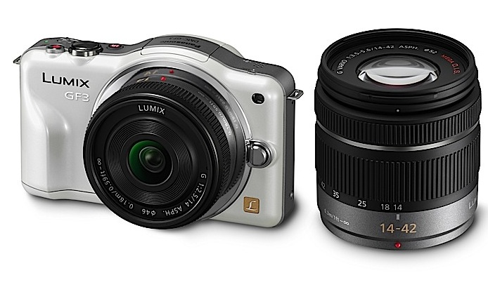 Panasonic LUMIX GF3 official: 12.1MP Micro-4/3 gets even smaller