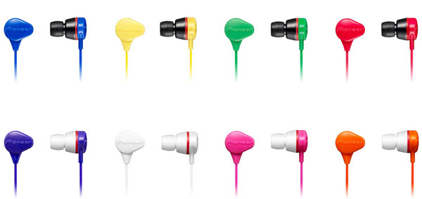 Pioneer SE-CL331 earphones can be washed clean and survive