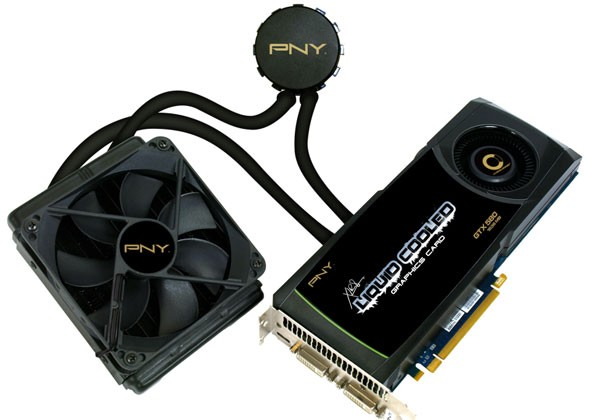 PNY unveils new NVIDIA GTX 580 liquid cooled graphics card with CPU cooling