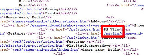 Sony PS Vita name for NGP tipped via PlayStation site source code
