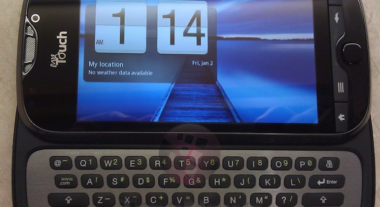 T-Mobile myTouch 4G Slide caught in wild ahead of July 6 release