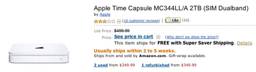 Apple Time Capsule refresh with iCloud inside?