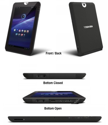 Toshiba Thrive Android 3.1 Tablet Arriving July
