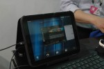 HP TouchPad spied at SanDisk Computex booth