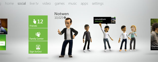 Xbox LIVE Will Be Built Into Windows 8