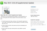 Apple Releases OS X 10.6.8 Supplemental Update For Better Snow Leopard To Lion Transition