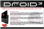 Motorola Droid 3 Leak Confirms Specs And July 14 Release