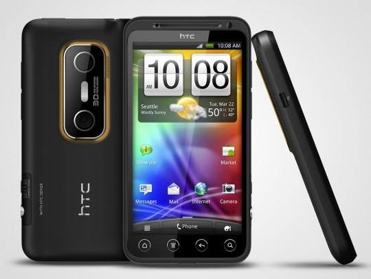 HTC EVO 3D gets Vodafone snub
