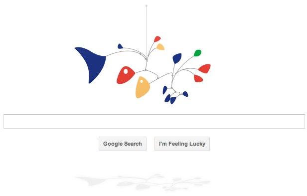Google Alexander Calder doodle demos HTML5 Canvas