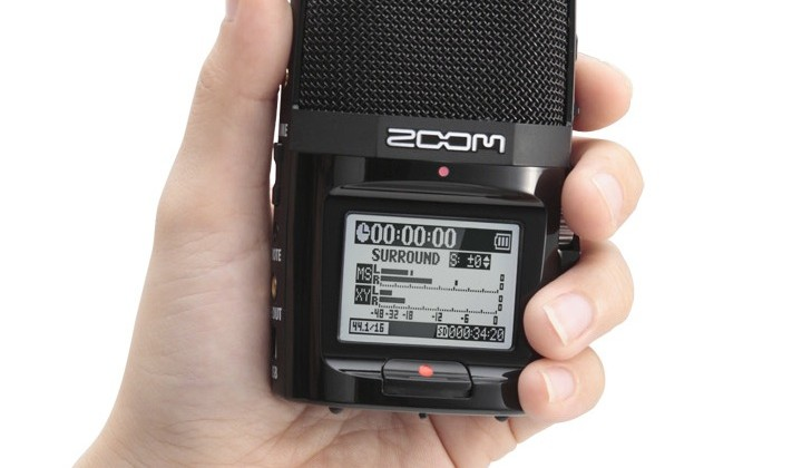 Zoom H2n portable recorder packs five microphones [Video]