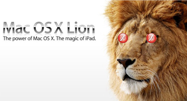 Adobe admits OS X Lion Flash claims were false
